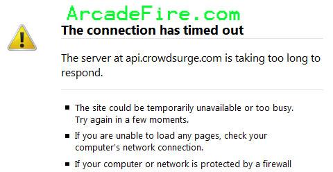Arcadefire.com