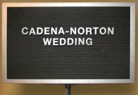 Cadena wedding