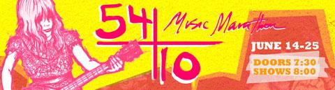 54/10 Music Marathon