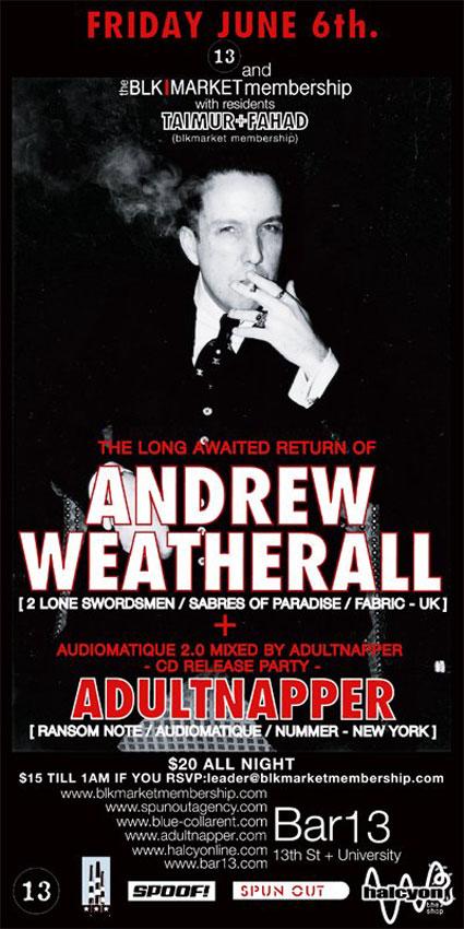 Adnrew Weatherall