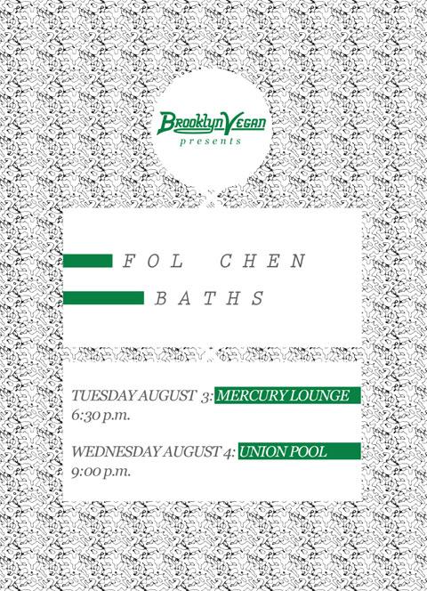 Baths flyer