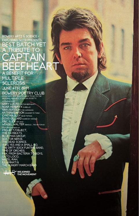 Beefheart flyer
