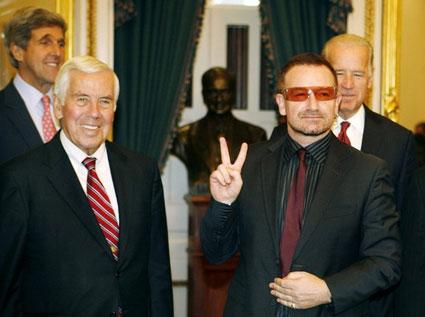 Biden and Bono