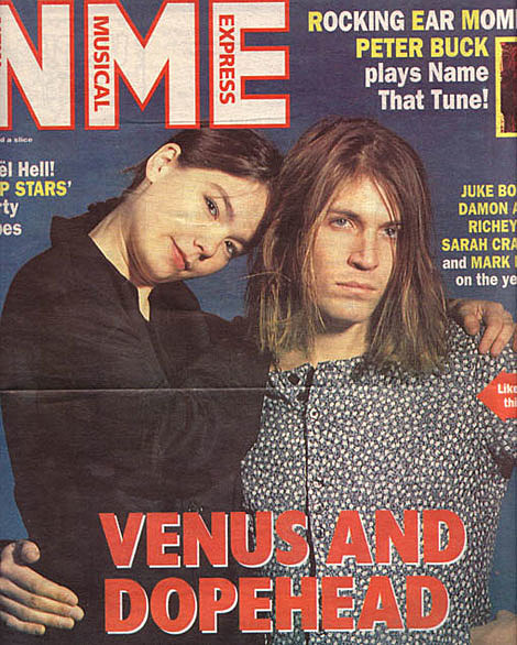 Bjork and Evan Dando