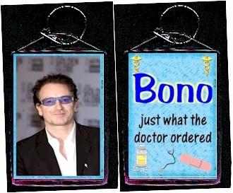 Bono keychain