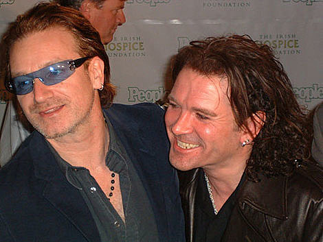 Bono and Gavin Friday