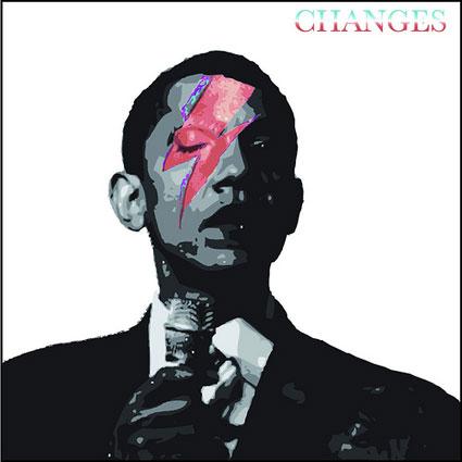 Bowie vs Obama