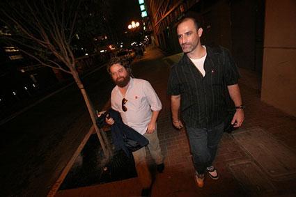 Zach Galifinakis & Brody Stevens
