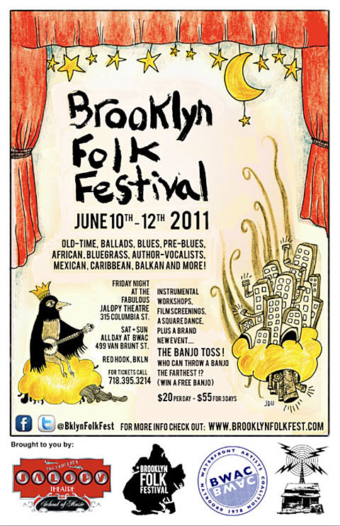 Brooklyn Folk Fest '11
