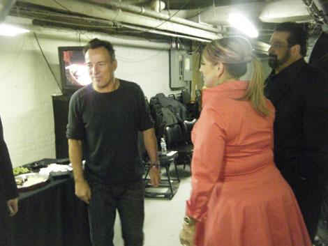 Bruce Springsteen & Lisa Lampanelli