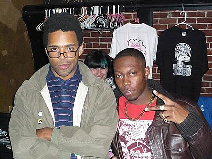 busdriver and dizzee rascal