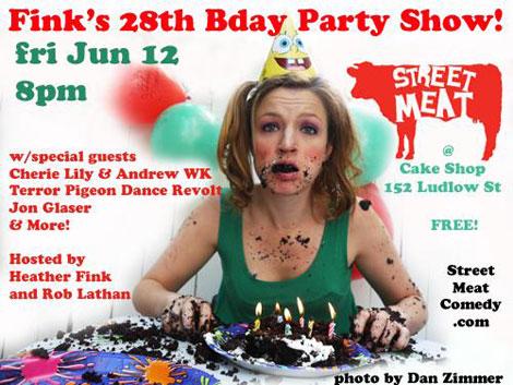 Cake Shop June 12