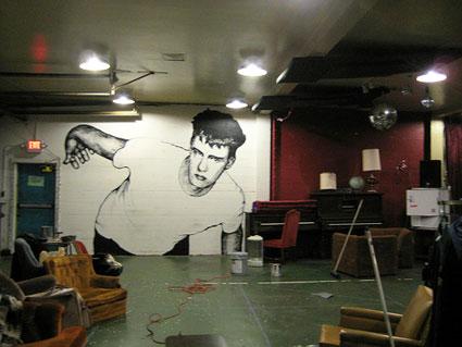 Calvin Johnson mural