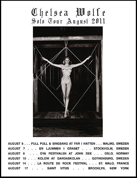 Chelsea Wolfe solo tour