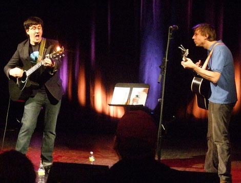 John Darnielle and John Vanderslice