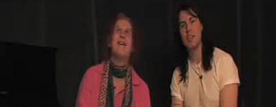 Baby Dee and Andrew WK
