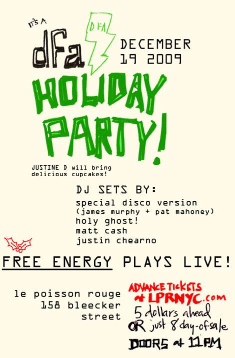 DFA Holiday Party