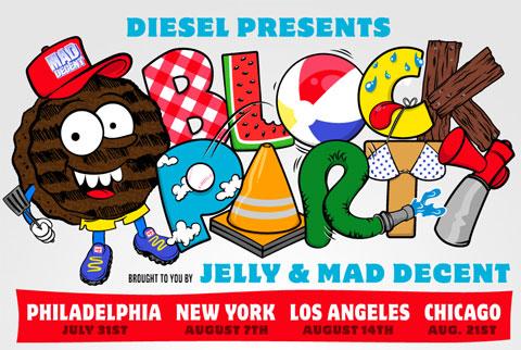 Diesel block parties