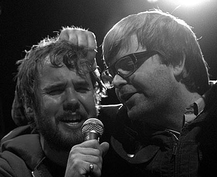 Kevin Drew and Ben Gibbard