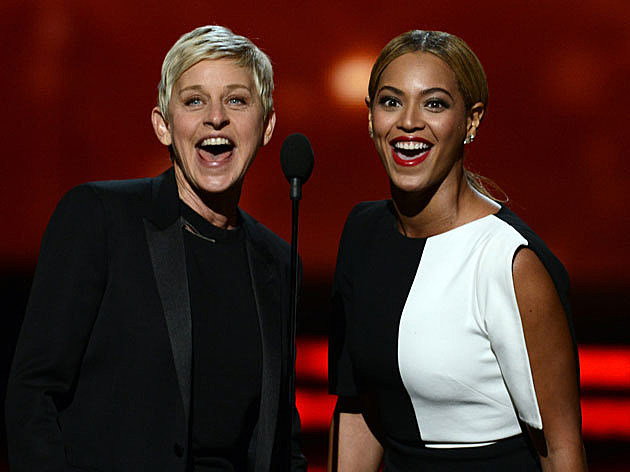 Ellen and Beyonce