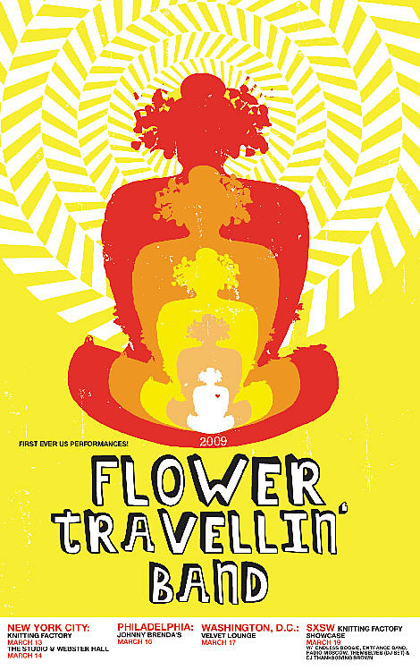 Flower Travelin Band