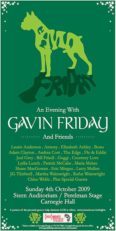 Gavin Friday