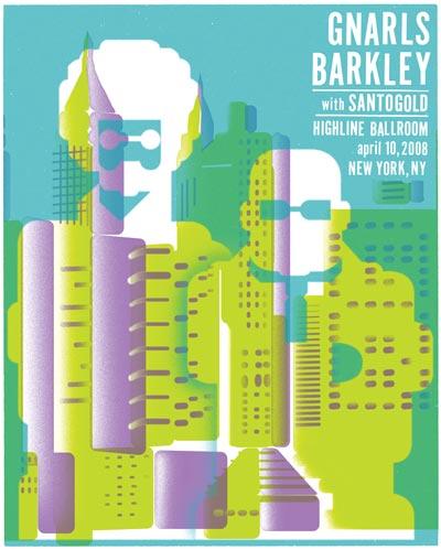 Gnarls Barkley and Santogold