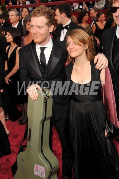 Glen Hansard and Marketa Irglova at the Oscars