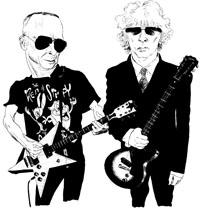 Ian Hunter and Graham Parker