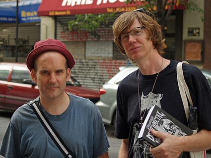 Ian Mackaye and Thurston Moore