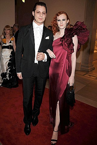 Jack White and wife
