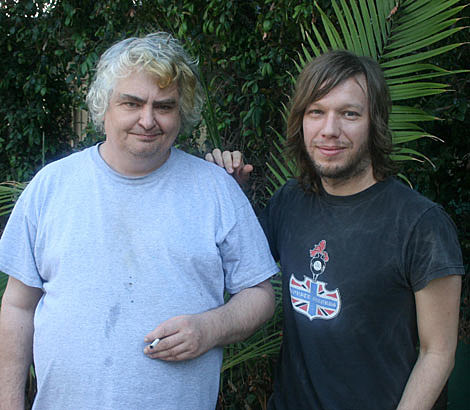 Jason Falkner with Daniel Johnston