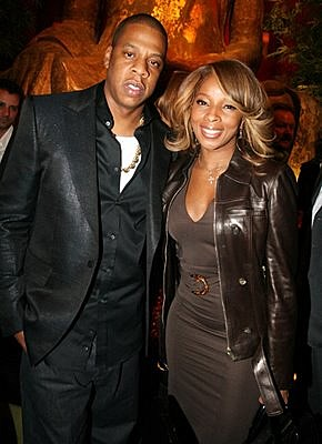 Jay Z and Mary J Blige