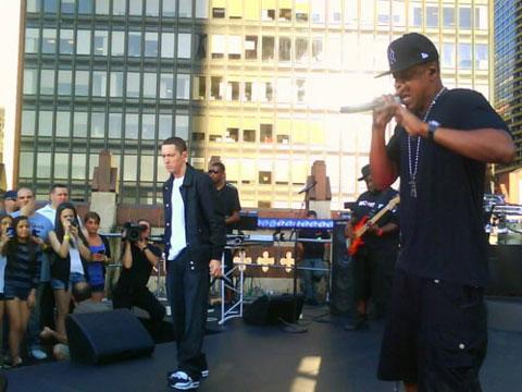 Jay Z and Eminem