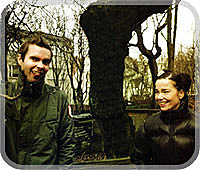 Jonsi and Bjork