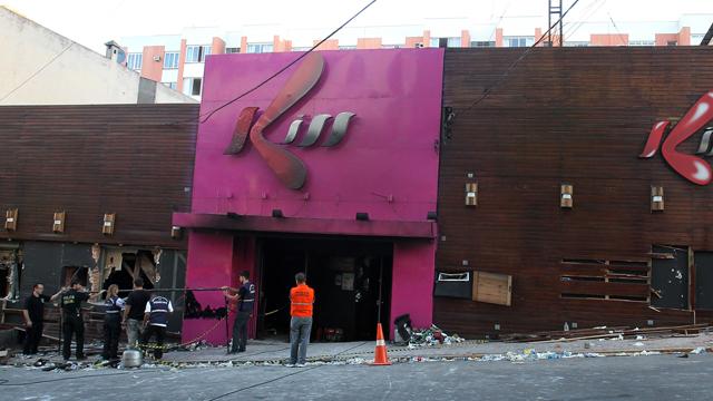 Kiss nightclub