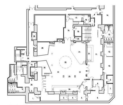 Le) Poisson Rouge – new venue\'s floor plan, initial schedule