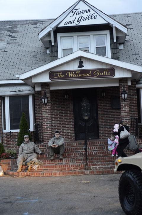 Hurricane Sandy Aftermath in Lindenhurst, Long Island