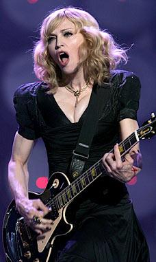 Madonna rocks