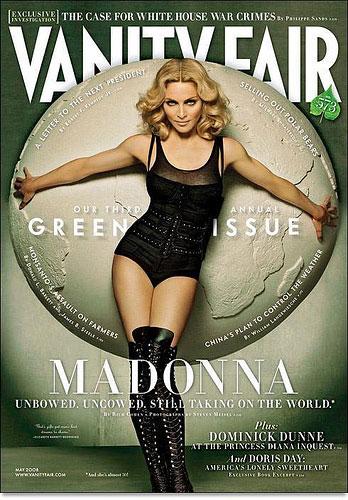 Madonna on Vanity Fair