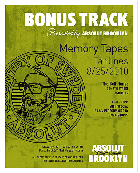 Memorytapes flyer