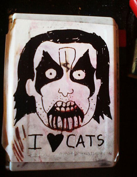 Metal Dudes Cats