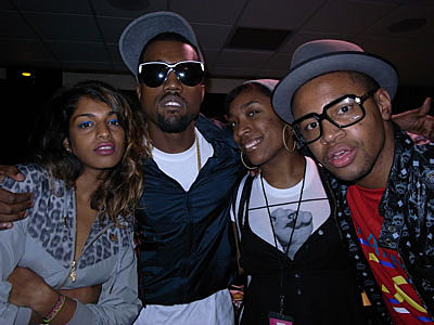 MIA and Kanye