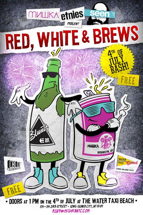Red, White & Brews