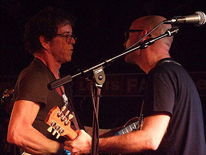 Lou Reed and Moby