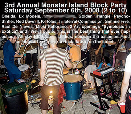Monster Island Block Party