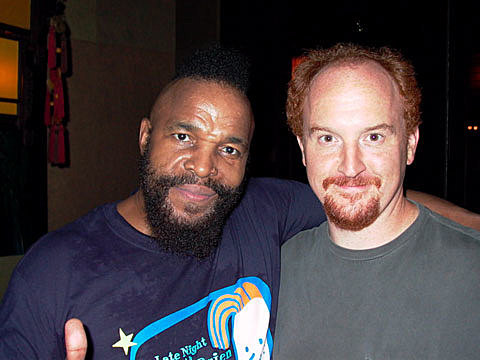 Mr T and Louis CK
