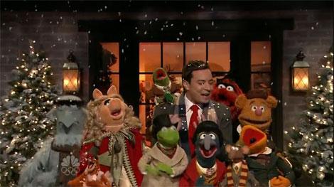 Muppets Christmas.Bohemian Rhapsody Muppets Christmas Videos W Jimmy Fallon