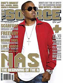 Nas on Source - January 2008