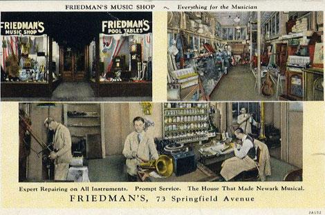 Friedmans music store